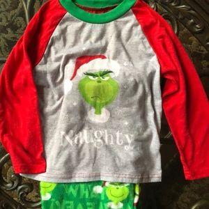 Other - Boy's Grinch Christmas Pajamas